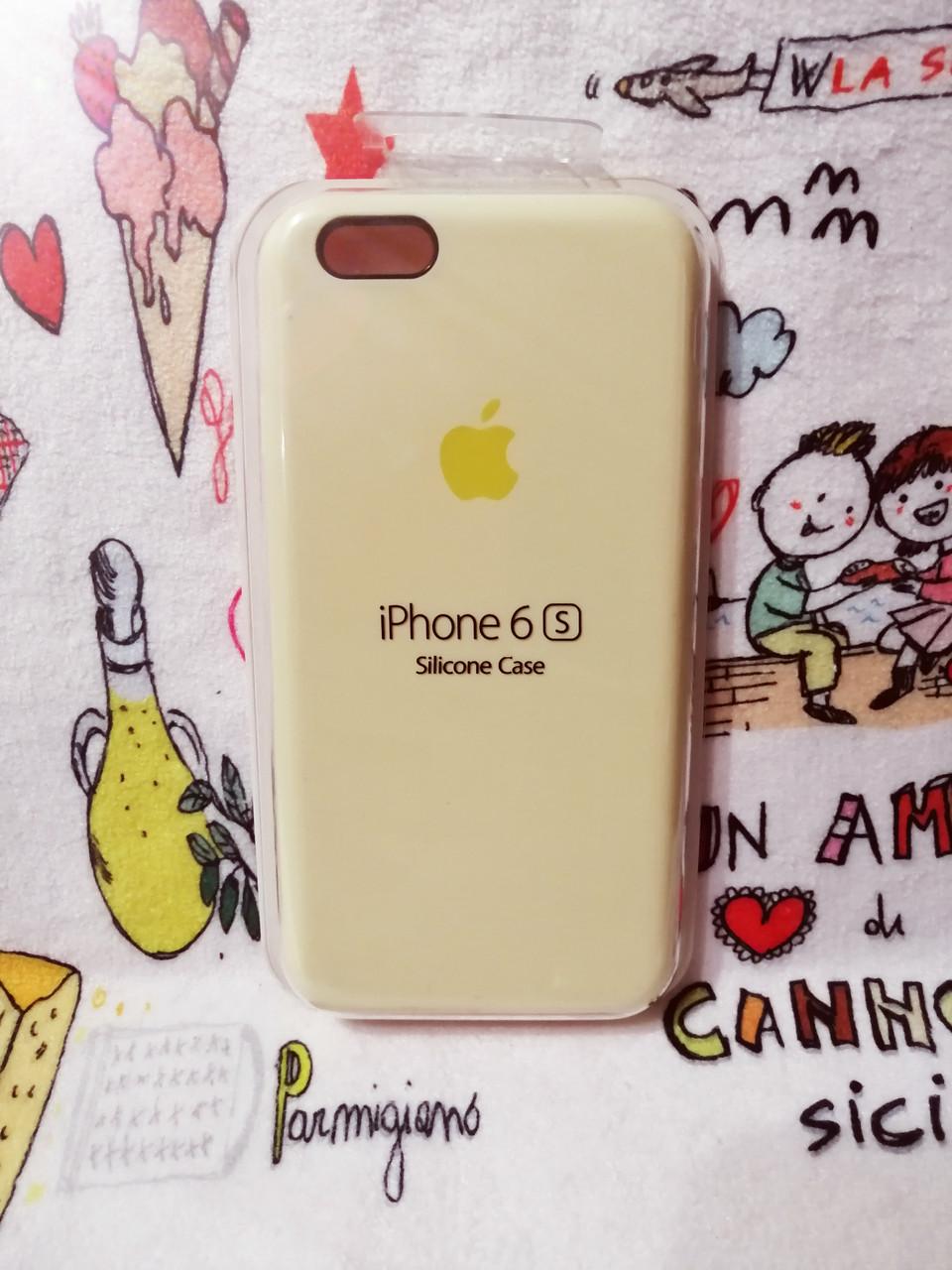Силиконовый чехол для Айфон  6 / 6S  Silicon Case Iphone 6 / 6S в защищенном боксе - Color 4
