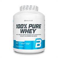 Протеин BioTech 100% Pure Whey, 2.27 кг Карамель-капучино