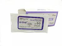 ПГА RT-med USP 5/0 (EP 1) з кол. голкою 16мм 1/2 кола