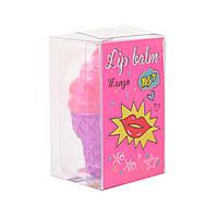 Детская помада-бальзам для губ YES Pink ice cream (5056137186914)(707078)
