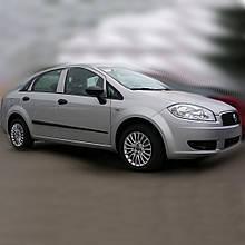Молдинги на двері для Fiat Linea 2007-2018