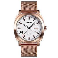 Skmei 1466S золотые мужские стальные часы, фото 1
