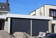 Гаражные секционные ворота DoorHan 2500 на 1900 (цвет сатингрей), фото 3