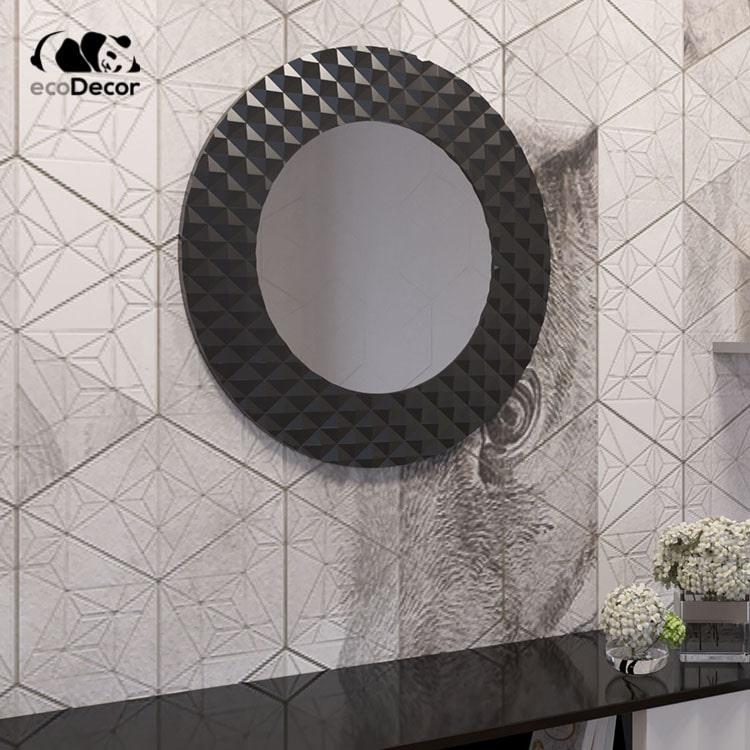 Зеркало в ванную черное Dublin