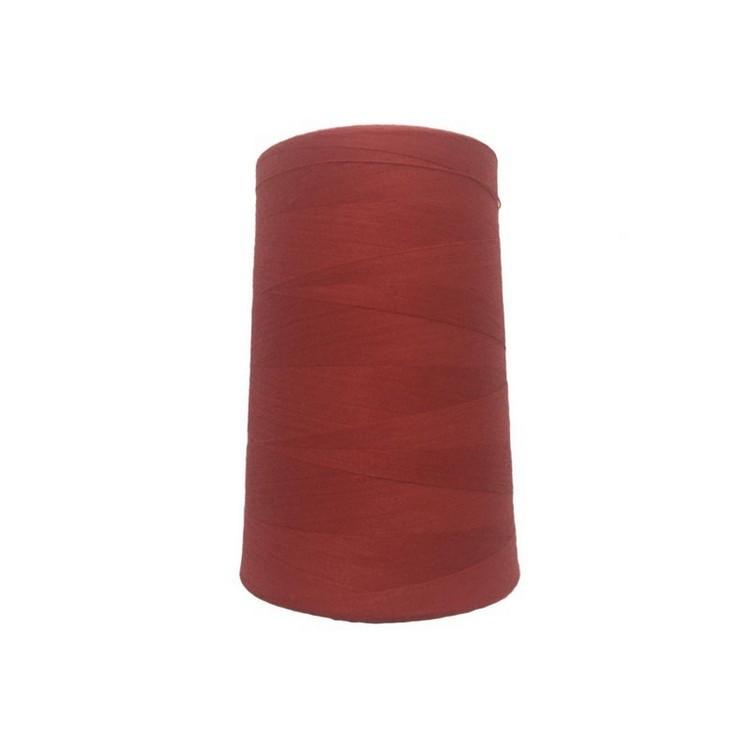 Нить швейная 100% PE 50/2 цв S-518 красный бледный (боб 5000ярдов/12боб/120боб) NITEX