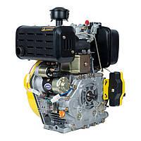 Двигатель дизельный Кентавр ДВУ-420ДШЛЕ (10 л.с.) с электростартером вал под шлицы