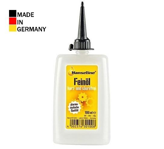 Смазка для цепи HANSELINE Precision FEINOIL 100ml