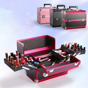Профессиональные саквояжи, кейсы, чемоданы для визажистов, мастеров маникюра и парикмахеров