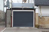 Секционные ворота в гараж DoorHan ш2400, в1900 (цвет сатингрей), фото 2