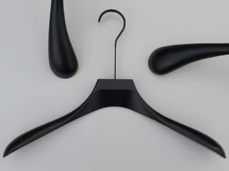 """Длина 44 см. Плечики Premium серии """"Elegante"""" черного цвета, Mainetti Group Италия"""