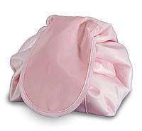 Большая дорожная женская раскладная косметичка -мешок Magic Travel Pouch Розовая, Косметички, сумочки, кейсы для косметики