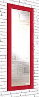 Зеркало настенное в раме Factura Red cube 60х174 см красный, фото 1