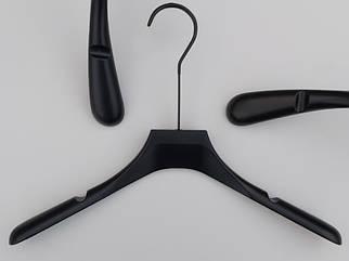 """Длина 39 см. Плечики Premium серии """"Elegante"""" черного цвета,  Mainetti Group Италия"""
