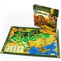 Карта-пазл «Флора и фауна Украины»