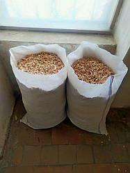 Опилки ольховые тырса стружка для копчения и животным (3,5 кг) от производителя