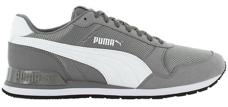 Кроссовки Puma st runner v2 Mesh 366811 серый
