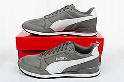 Кроссовки Puma st runner v2 Mesh 366811 серый, фото 3
