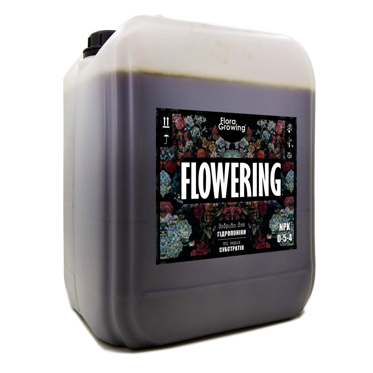 10 л Flowering - Стимулятор цветения для гидропоники и почвы аналог Ripen