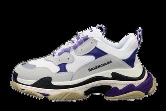 Женские кроссовки Balenciaga Triple S (баленсиага) разноцветные