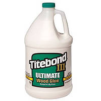 КЛЕЙ ДЛЯ ДЕРЕВА TITEBOND III ULTIMATE D4 Wood Glue 3.78 л.