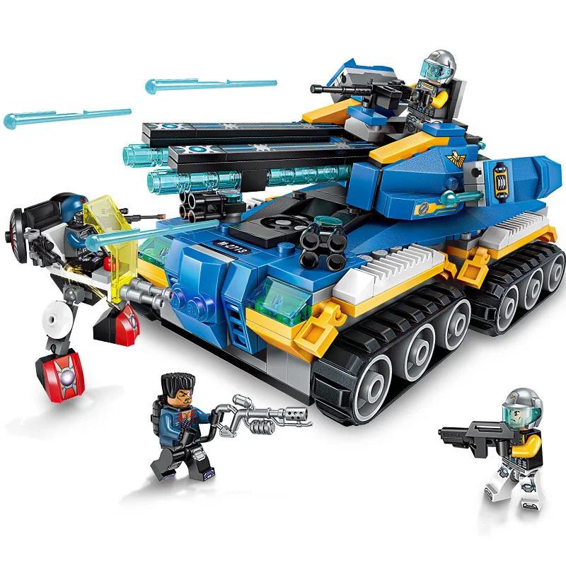 """Конструктор Brick(Qman) 2713  Танк """"Апокалипсис"""", 398 деталей"""