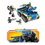 """Конструктор Brick(Qman) 2713  Танк """"Апокалипсис"""", 398 деталей, фото 4"""