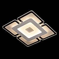 Светодиодная люстра квадрат с пультом управления 56W*2 DIMMER 3000-6000K