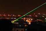 Лазерная указка зелёный с  5 насадками / 5 в 1, фото 2