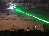 Лазерная указка зелёный с  5 насадками / 5 в 1, фото 5