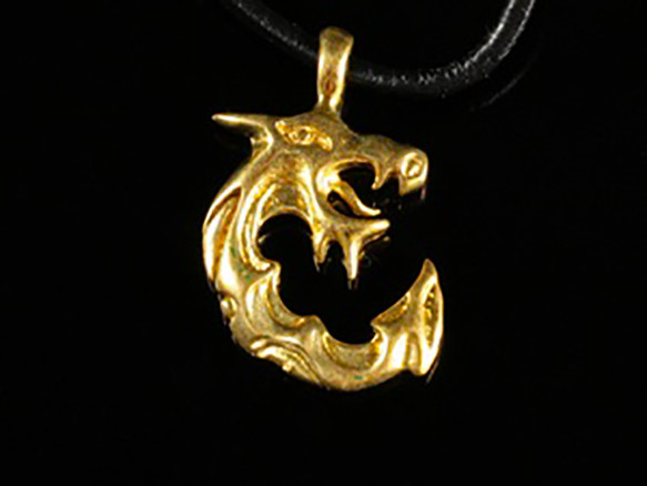 04.Амулет из бронзы. Дракон
