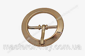 Пряжка круглая А-068-20мм цвет золото
