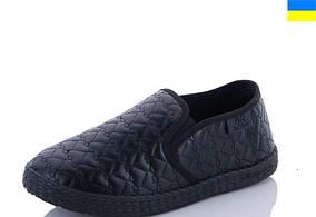 Сліпони кросівки кеди для хлопчика чорні Active розмір 33 - 20 см