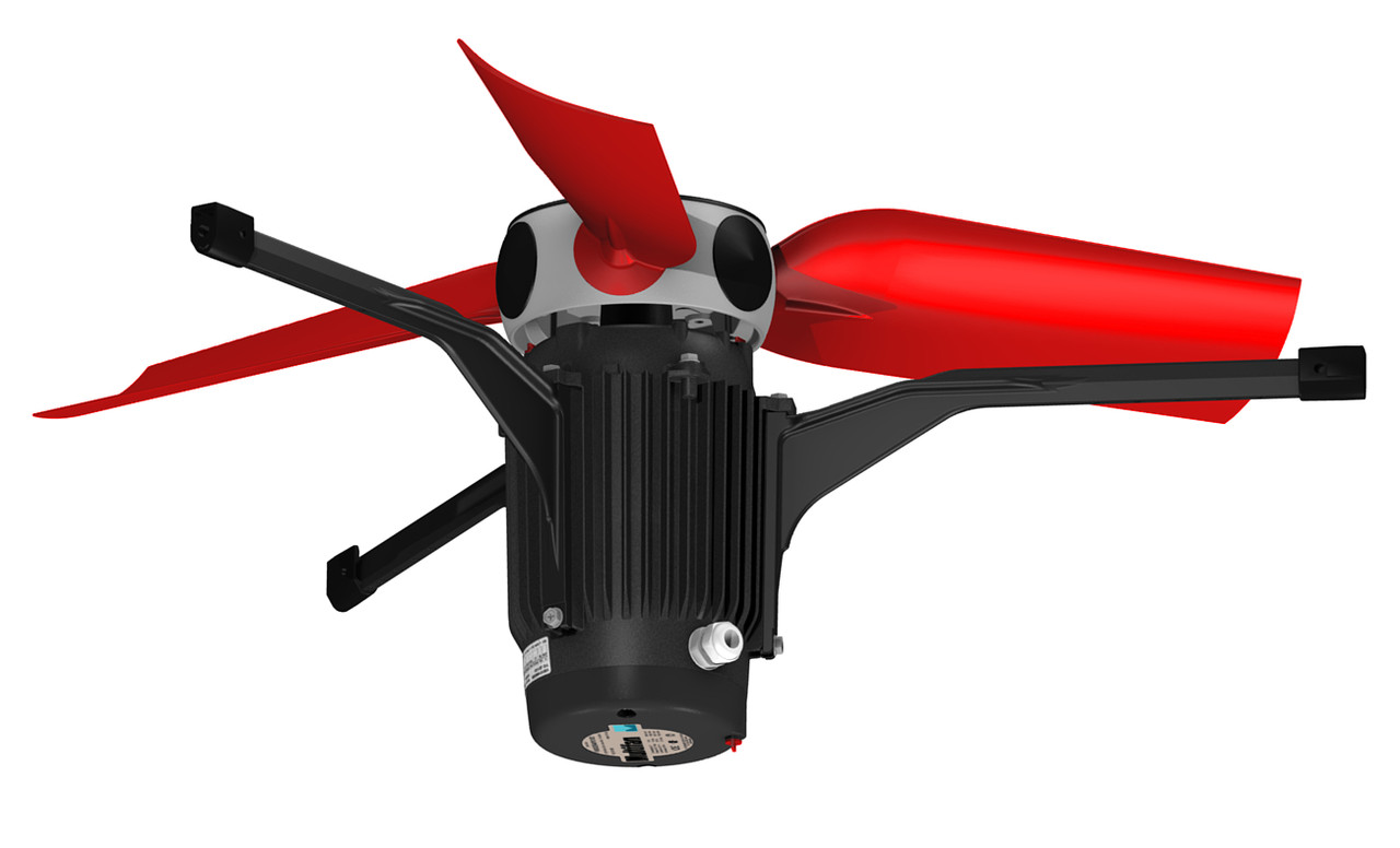 Вентилятор Multifan Ø 82 см // однофазний
