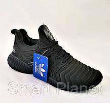 Кроссовки Мужские Adidas Alphabounce Чёрные Адидас (размеры: 43) Видео Обзор, фото 3
