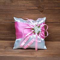 Подушечка для колец в розовых тонах (арт. CR-003)