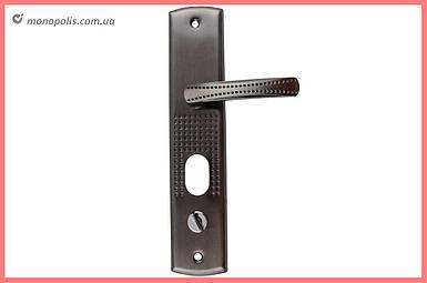 Ручка для металлических дверей FZB - (14-31) без подстветки АВ (бронза), левая дверь