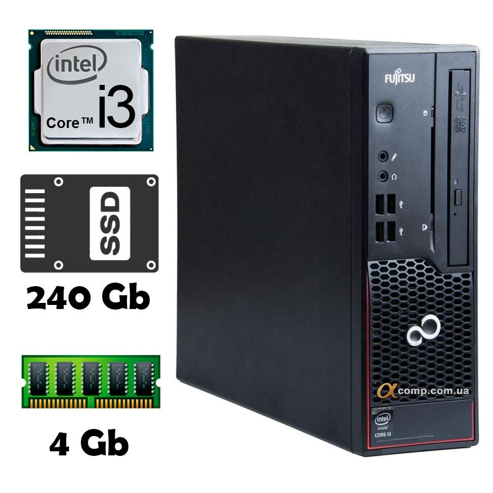 Компьютер Fujitsu C700 (i3-2100/4Gb/ssd 240Gb) usff БУ