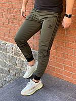 Спортивные штаны Adidas хаки. Адидас