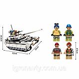 "Конструктор Brick(Qman) 3206 ""Атака Танка"", 430 деталей, фото 3"