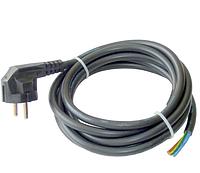 Провод (кабель, шнур) для электроприборов с евровилкой с заземлением для электроинструментов