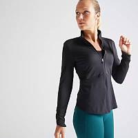 Блуза женская для фитнеса FJA 500 Domyos