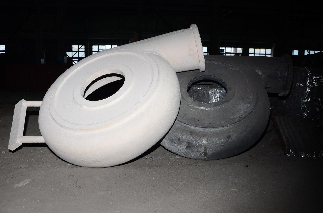 Изготовление корпусов насосов (улитка)