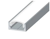 Профиль аллюминиевый + рассеиватель матовый ,анодированный  2м  ЛП-7, фото 1