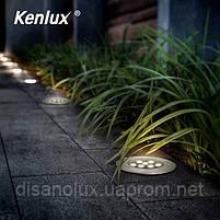 Світильник грунтовий K-2802 LED 24W 230V розмір 220мм * 90мм IP65 6500K, фото 5