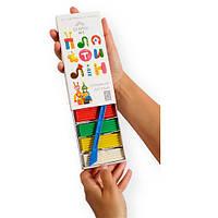 Пластилин детский «Gearsy Art», набор из 6 цветов