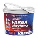 KREISEL краска акриловая фасадная №001, 15л (база D)