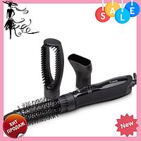 Фен щетка для сушки и укладки волос MAGIO 558МG, фото 1