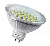 Лампа светодиодная BUKO JCDR 48 LED, 220V