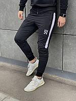 Спортивные штаны OFF-White (ОФФ) черные с белым.