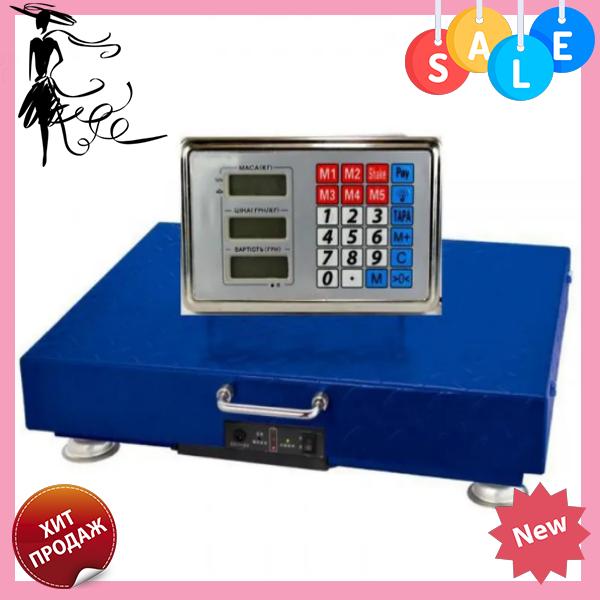 Электронные торговые весы ACS 350 кг WIFI 40*45 Domotec